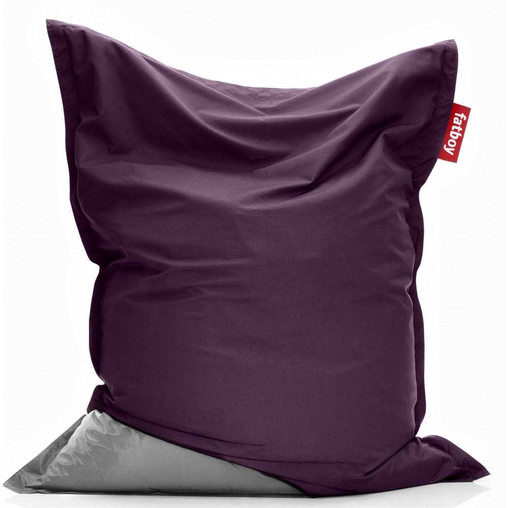 Housse violette pouf Original Fatboy