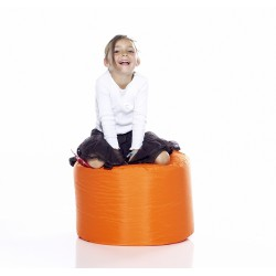 Pouf rond orange Fatboy