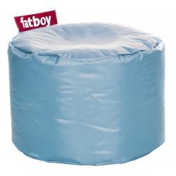 Pouf rond bleu glacial Fatboy