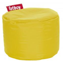 Pouf Fatboy rond jaune