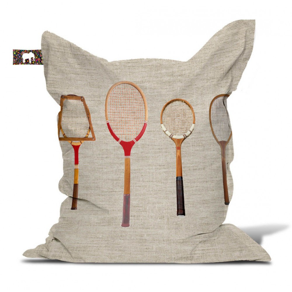 Pouf badminton