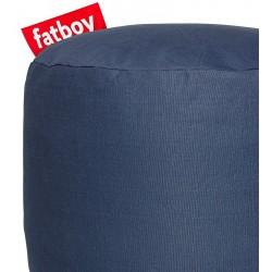 Pouf point bleu marine Fatboy