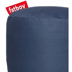 Pouf point bleu marine Fatboy