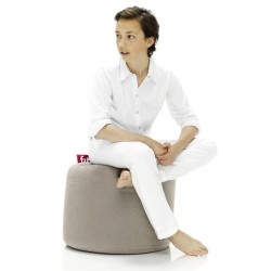 Pouf Fatboy point gris sable