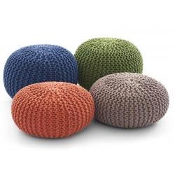 Coussin de sol tricot