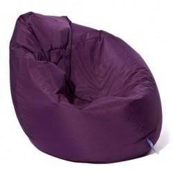 Pouf poire violet Scuba XXL
