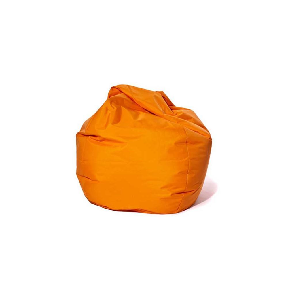 Pouf poire orange