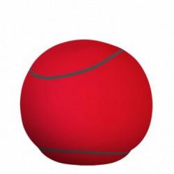 Pouf rouge et gris - The Bool