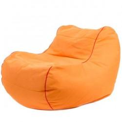 Fauteuil pouf orange jumbobag