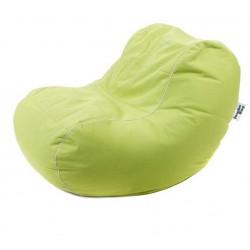 pouf vert anis