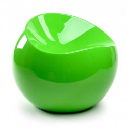 Ball chair vert vitaminé pouf XL Boom