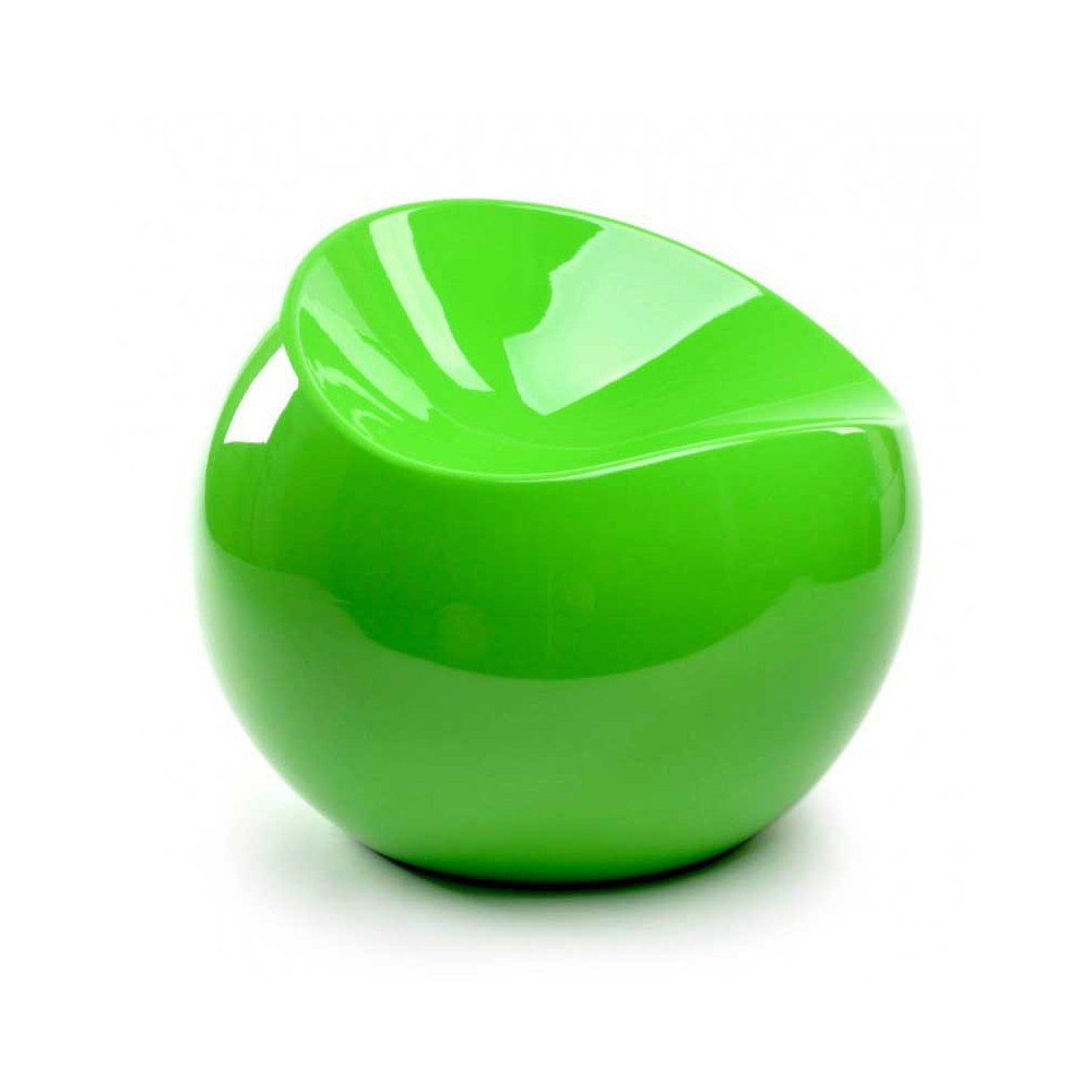 Ball chair vert vitaminé pouf XL Boom