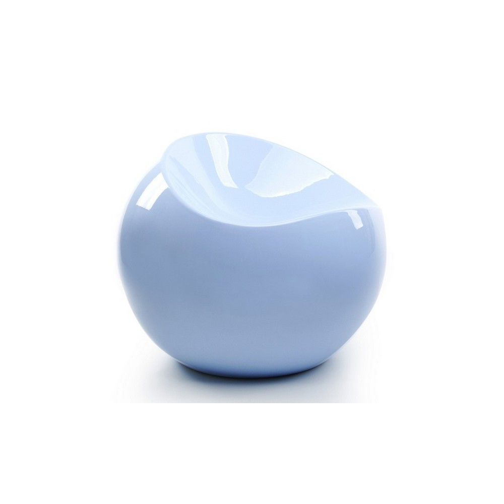 Ball chair bleu pastel pouf XL Boom