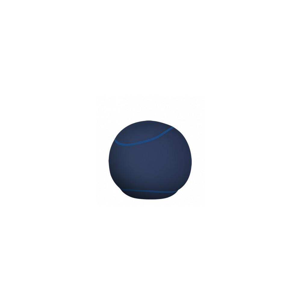 Pouf rond bleu foncé - The Bool