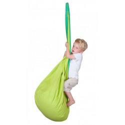fauteuil suspendu vert enfant
