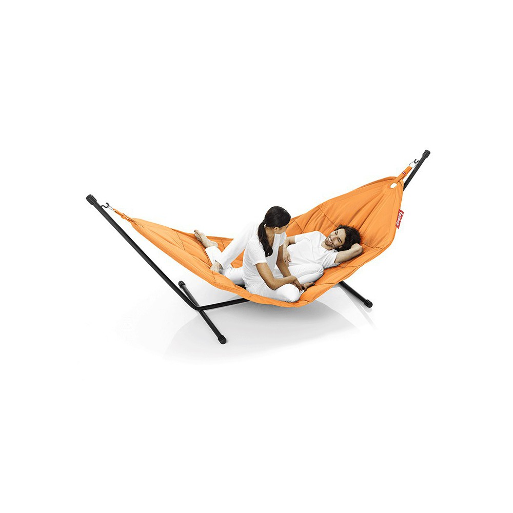 Hamac Fatboy orange avec support