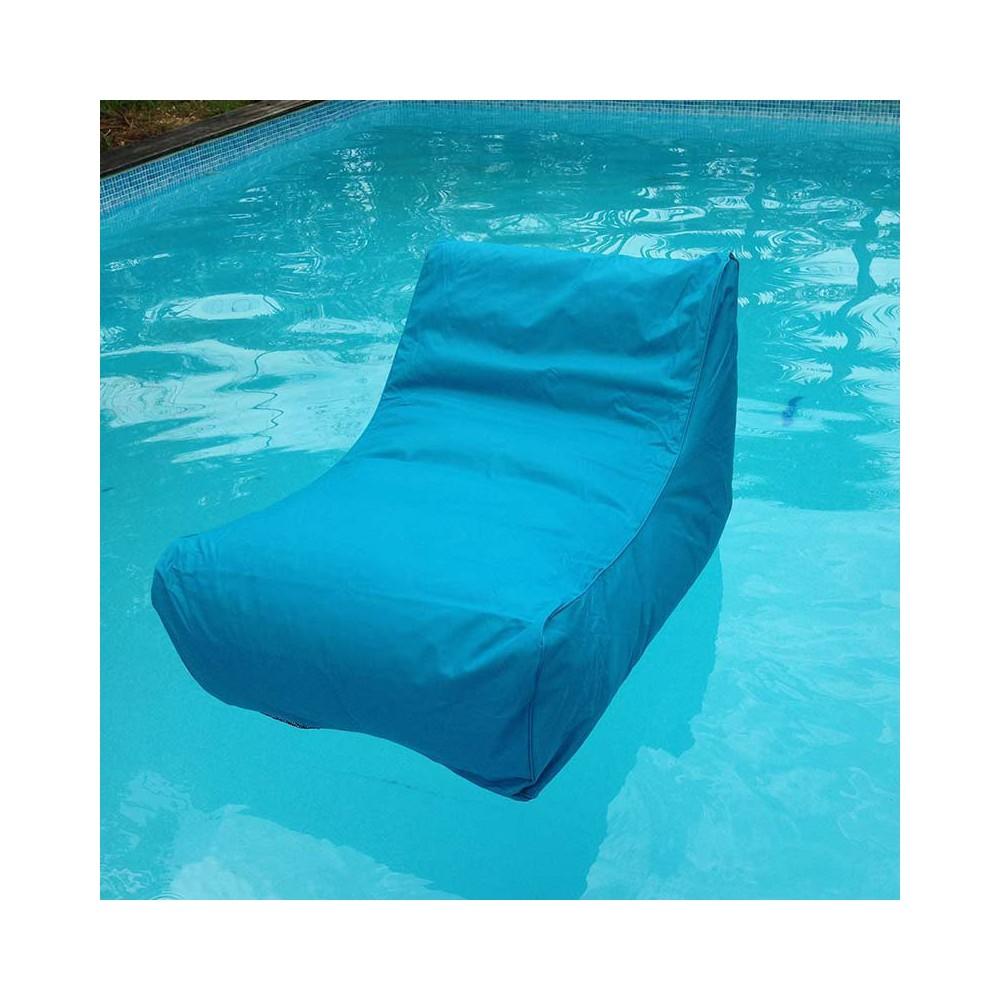 Fauteuil piscine bleu