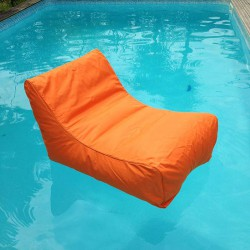 Fauteuil piscine orange