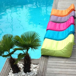 pouf piscine flottant