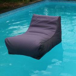 Fauteuil piscine gris