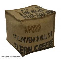 Pouf cube lilokawa