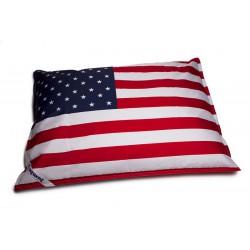 Pouf drapeau américain
