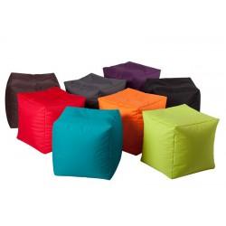 Poufs jumbobag cubes