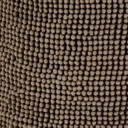 Pouf beige sable tiseco