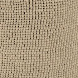Pouf doux coton naturel