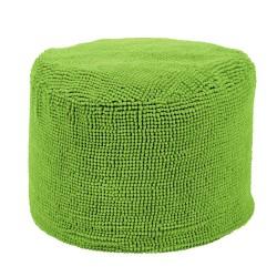 Pouf rond vert tiseco