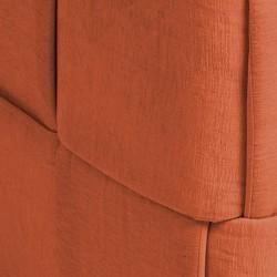 Pouf carré orange