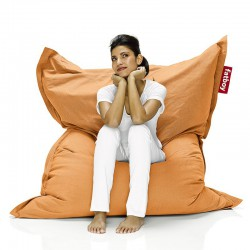 Pouf orange Fatboy doux