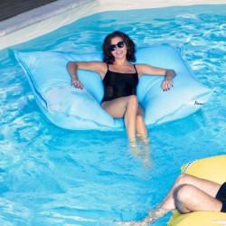 Pouf swimming bag bleu