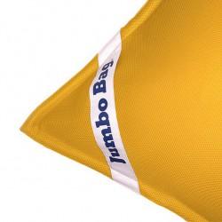 Pouf piscine jaune jumbobag
