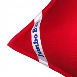 Pouf flottant rouge