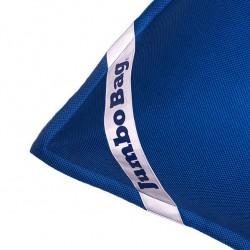 Pouf flottant bleu foncé géant