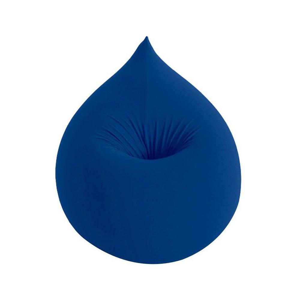 Pouf bleu design