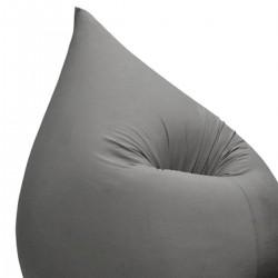 Pouf ergonomique gris foncé
