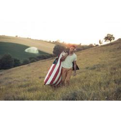 Pouf USA drapeau