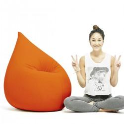 Pouf poire terapy orange