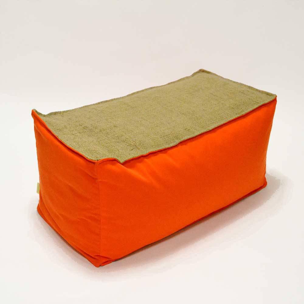 Pouf orange