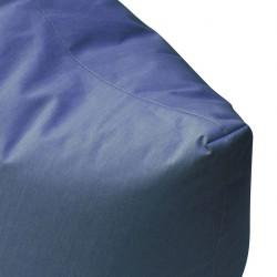 Pouf lounge bleu