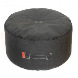 Pouf gris anthracite