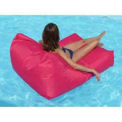 Pouf fauteuil piscine flottant
