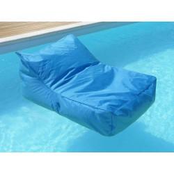 fauteuil piscine bleu turquoise