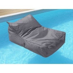 fauteuil piscine gris anthracite