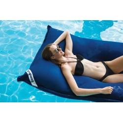 Pouf piscine bleu marine