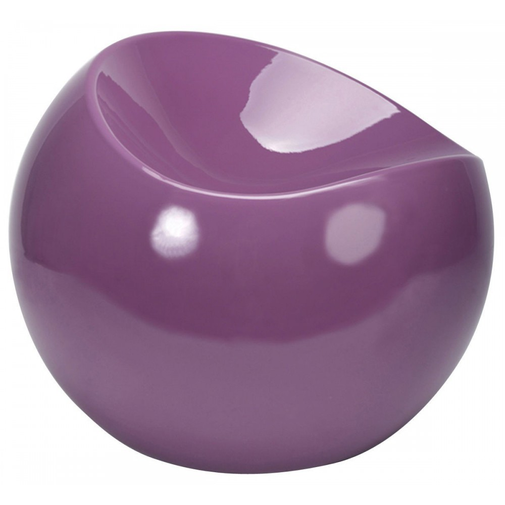Ball chair violet pouf XL Boom