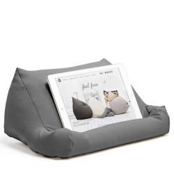 Support tablette numérique gris