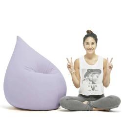 Pouf ergonomique lila